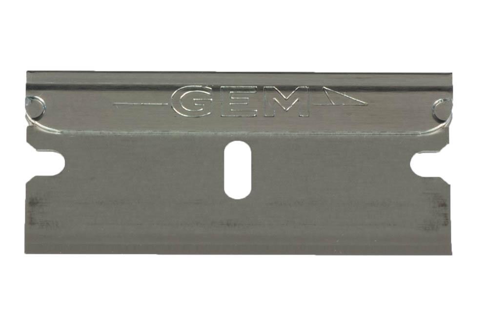 GEM® Scientific Single Edge Razor Blades, with Dispenser ...