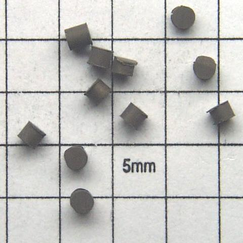 Cylinders 2mm diam x 1.8mm high