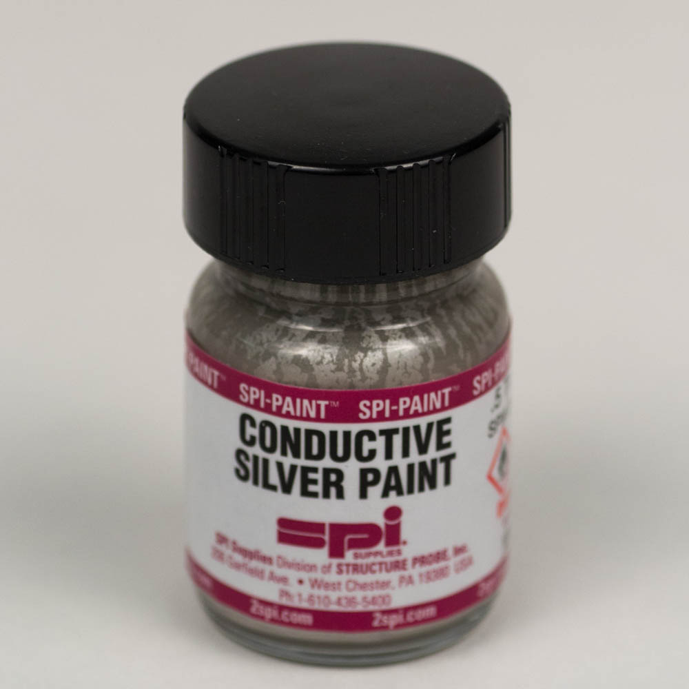 Silver Conductive Paint Z05001 Spi Supplies