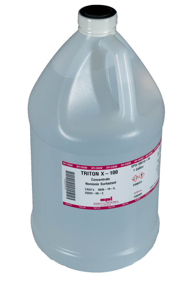 triton x100 nonionic surfactant octyl phenol ethoxylate