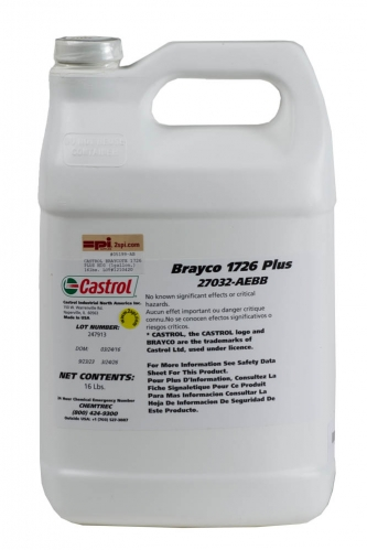 Brayco Chemically Inert Oils