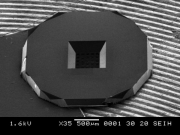 Silicon Oxide, Perforated