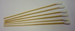 SPI Cotton Tipped Applicators, 20 mm Cotton Heads on 150 mm long Wooden Sticks, Box of 500