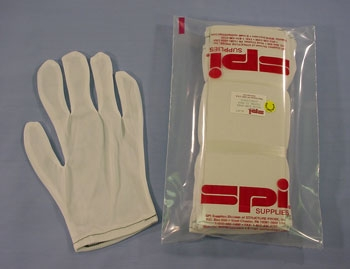 SPI-Guard Nylon Lint Free Gloves, Pack of 12 Pairs (One Dozen) for Women