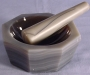 SPI Supplies Brand Agate Mortar and Pestle Set 100 mm x 82mm x 25 mm