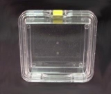 Square Membrane Boxes, Outside Dimensions:125 x 125 x 50 mm high, each