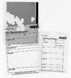 SPI Recordkeeper Brand Glassine Envelopes, Fits 3 3/4 x 4 in, Printed, Pack of 1000