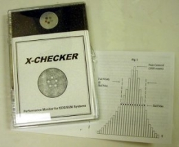 X-Checker Extra Extra Small World Performance Checker Mount with Faraday Cup for EDS Calibration