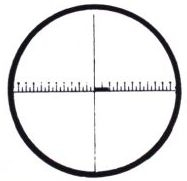 PEAK Reticles Standard Scale with Markings