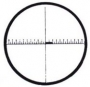 PEAK Reticle for Standard Scale with Markings, 7X Mag