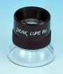 PEAK Fixed Focus Magnifier, 15X Lupe, Code 1962