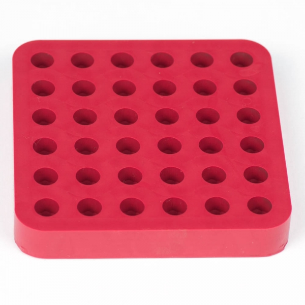 Chien Style Silicone Embedding Mold, 16 Numbered Cavities
