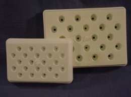 BEEM Capsule Holder with 22 Individually Numbered Cavities, For Size 00 BEEM Capsules