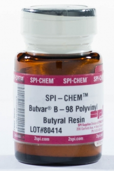 SPI-Chem Butvar B-98 Polyvinyl Butyral Resin, CAS #63148-65-2, 10g Bottle