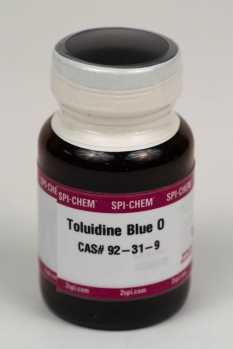 SPI-Chem Toluidine Blue O, CAS# 92-31-9 Light Microscope and Histology Stain