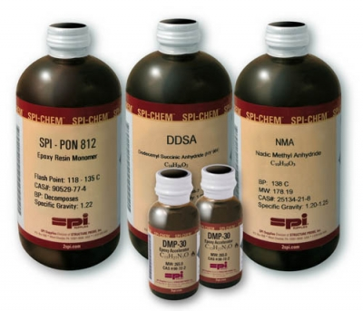 SPI-Pon 812 Kit, BDMA Formulation, with DDSA and NMA to make 1375 ml