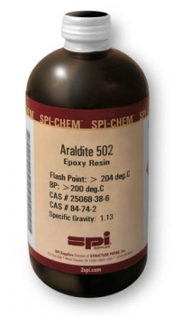 SPI-Chem Araldite 502 Epoxy Resin, 450 ml, CAS# 25068-38-6;84-74-2[DGPACK](CofC not available)