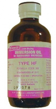Cargille type HF Halogen-Free Immersion Oil