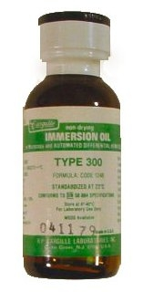 Type 300 Cargille Immersion Oil for Automated Hematology Systems and Microscopy