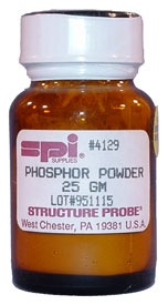 SPI-Chem TEM Screen Recoating Phosphor Powder, 25g