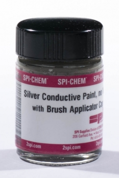 NO-VOC Silver Paint with Brush Applicator Cap, 1.0 troy oz.(31.0g) (CofC not available)