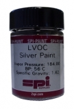 SPI Supplies LVOC Silver Paint with Brush Applicator Cap