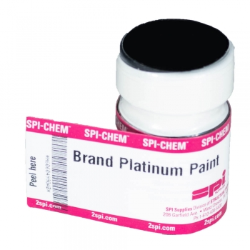 Platinum Conductive Paint, Brush Applicator Cap, 10 g (OK-SPI)