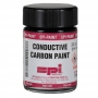 Carbon Conductive Paint with Brush Applicator Cap, 0.75 fl.oz. (21 ml)