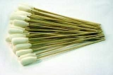 SPI-Swipes 100% Polyurethane Foam Swabs on Cotton Bud on Wooden Handle, Pack of 50