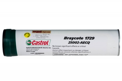 Castrol Braycote 1729 Chemically Inert Grease NLGI #3 - 1.75 lb cartridge