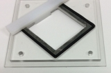 "2"" (50.8mm) square 45 degree holder for use with FlipScribe"