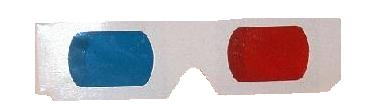 SPI Supplies Anaglyphic Stereo Viewers, Red/Blue, Pack of 100