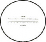 Graticules Reticle Model M6T20 Inches & Metric for MAG 6 Measuring Magnifier