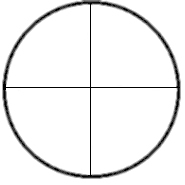 Cross Line Reticle