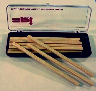 Balsa Sticks 1/16x1/16 in (1.6x1.6 mm) Pack of 12 Sticks