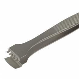 SPI-Swiss Wafer Style 5WF Tweezers, Antimagnetic Stainless Steel, 125mm