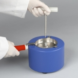 Liquid Nitrogen Cooled Mini Mortar & Pestle Set