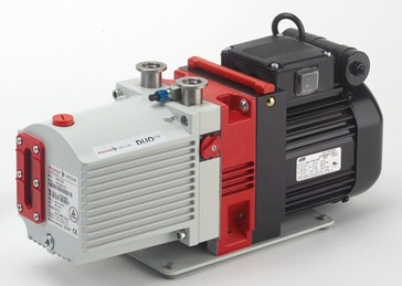Pfeiffer Vacuum Model DUO 3 Rotary Vane  Pump, 115/230V, 50/60 Hz variable, with P3 oil