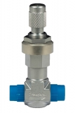 Replacement Inlet Needle Valve for Plasma Prep III and Plasma Prep II Systems