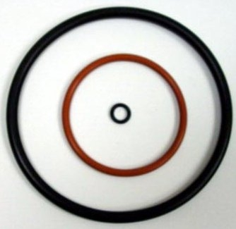 Set of 3 O Rings + PTFE Washer for SPI-Module Sputter Coater Head