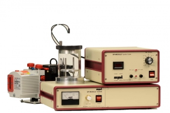 SPI Module Sputter Coater and Vacuum Base With Pump 110v 50/60 Hz CE Certified