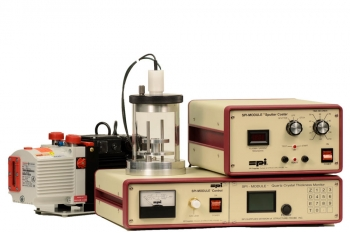 SPI Module Sputter Coater System w/ Etch Mode, Quartz TM and Pump, 110v 50/60 Hz