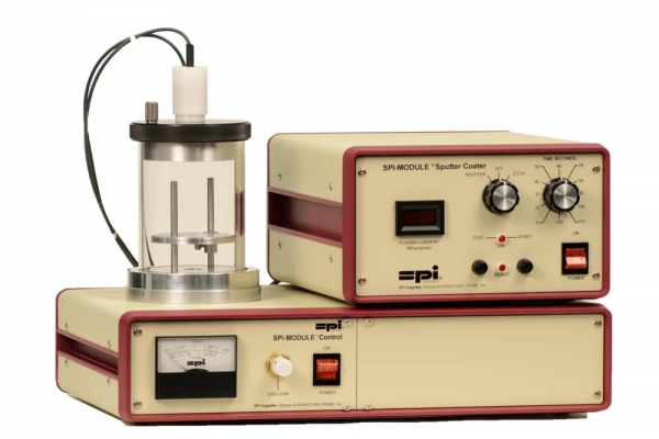 SPI-Module Sputter Coater and Vacuum Base With Etch Mode 110v 50/60 Hz CE Certified