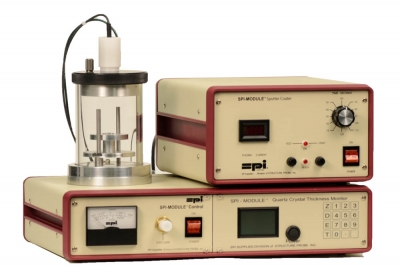 SPI Module Sputter Coater with Quartz Crystal Thickness Monitor (no Pump) 110v 50/60 Hz CE Certified