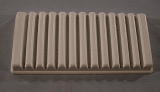 SPI Polystyrene Plastic Slide Holder, Pack 6