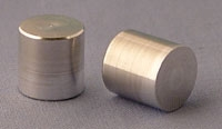 SPI Supplies Aluminum Mounts for JEOL SEMs, 3/8x3/8 in (9.5x9.5mm), Lathe Finish, Pack of 10