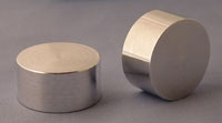 SPI Supplies Aluminum Round Mounts, 1x16/32in, Lathe Finish