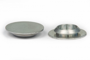 SPI Supplies Cylindrical SEM Mounts, 32 mm, Aluminum, Luster Finish