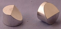 SPI-Luster Finish Aluminum Angled Topcon/ISI SEM Mounts 15 mm Diameter
