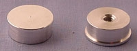 SPI Supplies Brand Aluminum Specimen Mounts, 15 mm Dia x 6 mm High for Hitachi SEMs
